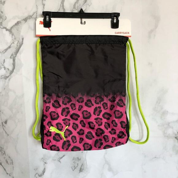 837c5ec70f5 Puma Bags   Leopard Gym Bag Backpack   Poshmark